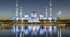 The makers have built it exactly in the way it should be, Sheikh Zayed Grand Mosque, Abu Dhabi