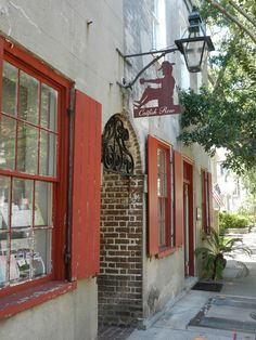 Catfish Row Charleston, SC.  Another of my photos that's found its way onto Pinterest.