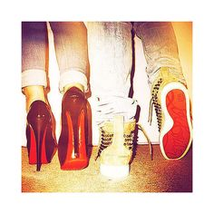 His and Her Louboutins...