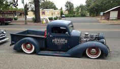 This #Classic #Custom truck is definitely cool. #HotRod #Style #Design #Speed