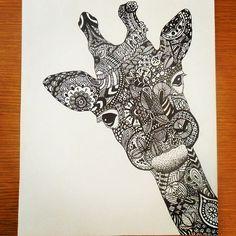 Kleurplaten Voor Volwassenen Giraf.Lisette Bezoen Lbezoen Op Pinterest