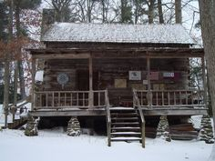 Small Cottages, Cabins And Cottages, Log Cabins, Rustic Cabins, Winter Cabin, Cozy Cabin, Cabin Homes, Log Homes, Building A Small House