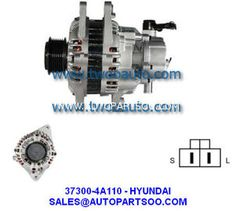 37300-4A002 37300-4A110 - HYUNDAI Alternator 12V 110A Alternadores Starter Motor, Spaceship, Engineering, Space Ship, Spacecraft, Mechanical Engineering, Technology, Spaceships