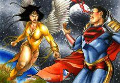 Superboy Prime, Red Lantern Corps, Dc Comics Women, Legion Of Superheroes, Anohana, Alien Races, A Silent Voice, Clark Kent, Love Drawings