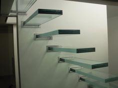 Viskonglas - Glazen traptreden