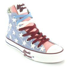 enamoradisima de estas converse ❤.❤ son perfectas!!!  Wonder woman High top converse
