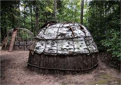 Ojibwe Dwelling, Grand Portage National Monument, near Grand Portage, Minnesota