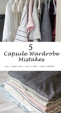 Thoughts on a Capsule Wardrobe: 1 Year Later