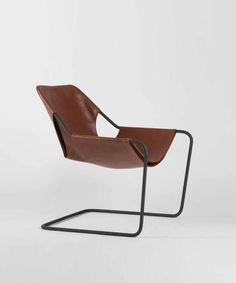 Paulistano Arm Chair in Leather – TRNK