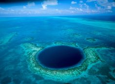 Great Blue Hole Belize --- 9 Most Beautiful Locations in World