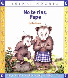 Don't Laugh, Joe by Keiko Kasza. Don't Laugh Joe is the story of a possum who can't play dead without laughing. I love the ending of the story - Kasza is the master of the surprise plot twist at the end! Animal Adaptations, Read Aloud Books, Summer Reading Program, Classic Literature, Children's Literature, Character Trait, Animal Books, I Love Books, Teaching Tools