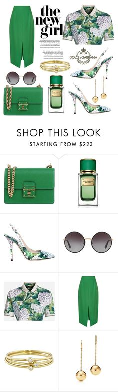 """Dolce&Gabbana"" by hastypudding ❤ liked on Polyvore featuring Dolce&Gabbana, Marco de Vincenzo, Jennifer Meyer Jewelry, contest, polyvorecommunity, fashionset, fashiondesigner and AmiciMei"