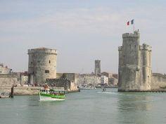 La Rochelle Harbour in South West France