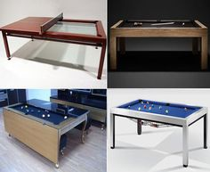 Convertible, multi-purpose pool table