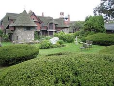 The Sleeper-McCann House, known as Beauport, is on Rocky Neck, in Gloucester, Massachusetts.