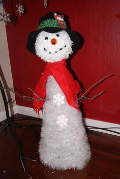 Garland Snowman