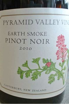 "Pyramid Valley Vineyards ""Earth Smoke"" Pinot Noir | http://www.snooth.com | #wine"