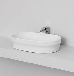 THE.ARTCERAM, POP countertop washbasin  60x40