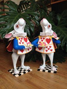 White Rabbit from Alice in Wonderland. Tea by RichardsBespokeArt