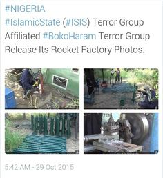 PHOTOS: Boko Haram Releases Pictures Of Its Rocket-Bomb Making Factory | NewsPosts247.com