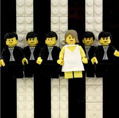 Legos cover Blondie album