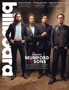 Mumford & Sons on cover of Billboard magazine, April 10, 2015