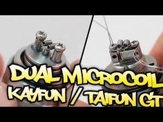 Dual Microcoil en Kayfun / Taifun GT - tutorial - YouTube