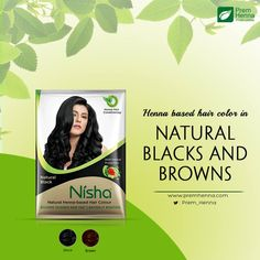 henna based no ammonia two shades to choose from what else are you looking for from a hair color product just buy yourself a pack of nisha hair henn - Henn Color