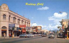 Redding, California, 1950s