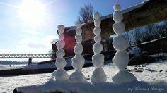 Snow art from Hungary by tamas kanya
