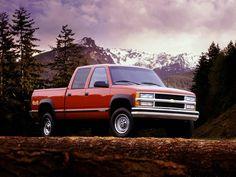 Chevrolet C/K 2500 Crew Cab '1988–99