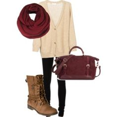 Fall Hues & Combat Boots: Great Outfit Ideas Adorable ways to wear combat boots with every outfit combination...