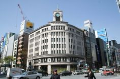 Wako Department Store Ginza Shopping District Tokyo
