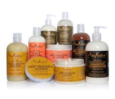Love everything Shea Moisture makes - body washes for me and curly hair products for the kids.
