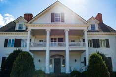 The Inn at Warner Hall is a peaceful 38-acre Chesapeake Bay retreat, a delightful setting for weddings, family reunions and business conferences and the picture of country life and fine dining.  Photo courtesy of Sara Harris Photography.