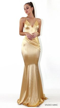 Gold Spell Gown (Available from: https://studiominc.com.au/collections/design-diary-italia/products/gold-spell)