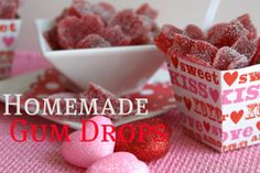 So, I'm not so much into Valentines day, but I am into gum drops, and this is such a cute idea.