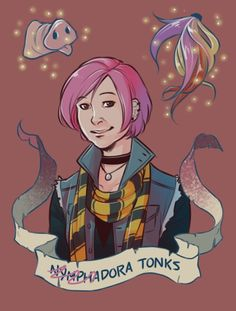 Ninphadora Tonks by: Brenna-Ivy