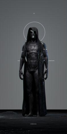 "spassundspiele: ""rere – sci-fi character concept by yin zhen chu """