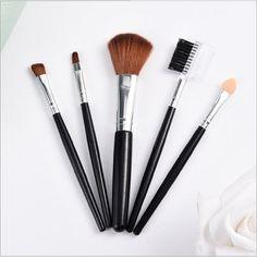 5pcs Women's professional makeup brush  High Quality Makeup Tools