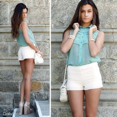 DailyLook: Mint Condition Look by L'atiste and Qupid