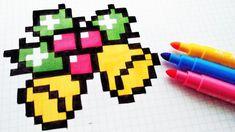 Handmade Pixel Art - How To Draw a Christmas Bells Christmas Bells, Christmas Angels, Gatos Disney, Christmas Crochet Patterns, Crochet Ornaments, Crochet Snowflakes, Crochet Christmas, Dishcloth Knitting Patterns, Knit Dishcloth