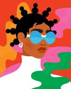 Into The Unknown — Jade Purple Brown Instagram Design, Black Girl Art, Art Girl, Arte Black, Black Art Painting, Posca Art, Hippie Art, Arte Pop, Dope Art