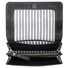 Ida Black Wallet by Status Anxiety