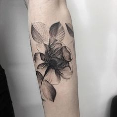 coolTop Women Tattoo - X-ray rose by Marlon M Toney... Check more at http://tattooviral.com/women-tattoos/women-tattoo-x-ray-rose-by-marlon-m-toney/