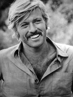 A younger Robert Redford!  What a great smile!*