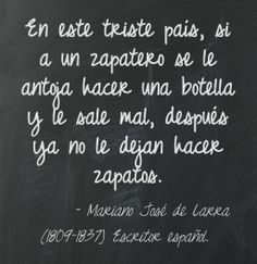 Mariano José de Larra (1809-1837) Escritor español.