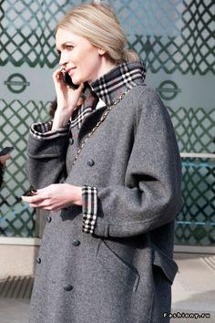 London Fashion Week осень-зима 2015-2016 - street style