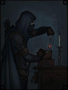 """Thief: FAN ART Gallery - NEW! """"Garrett - Master Thief"""" by ..."""