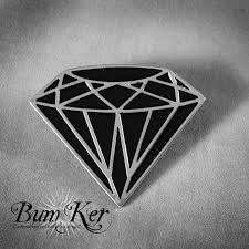 Resultado de imagen para diamond tattoo black and grey